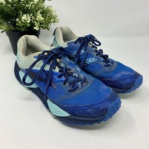 Brooks Cascadia 12 Trail Running Shoes Blue Size 8